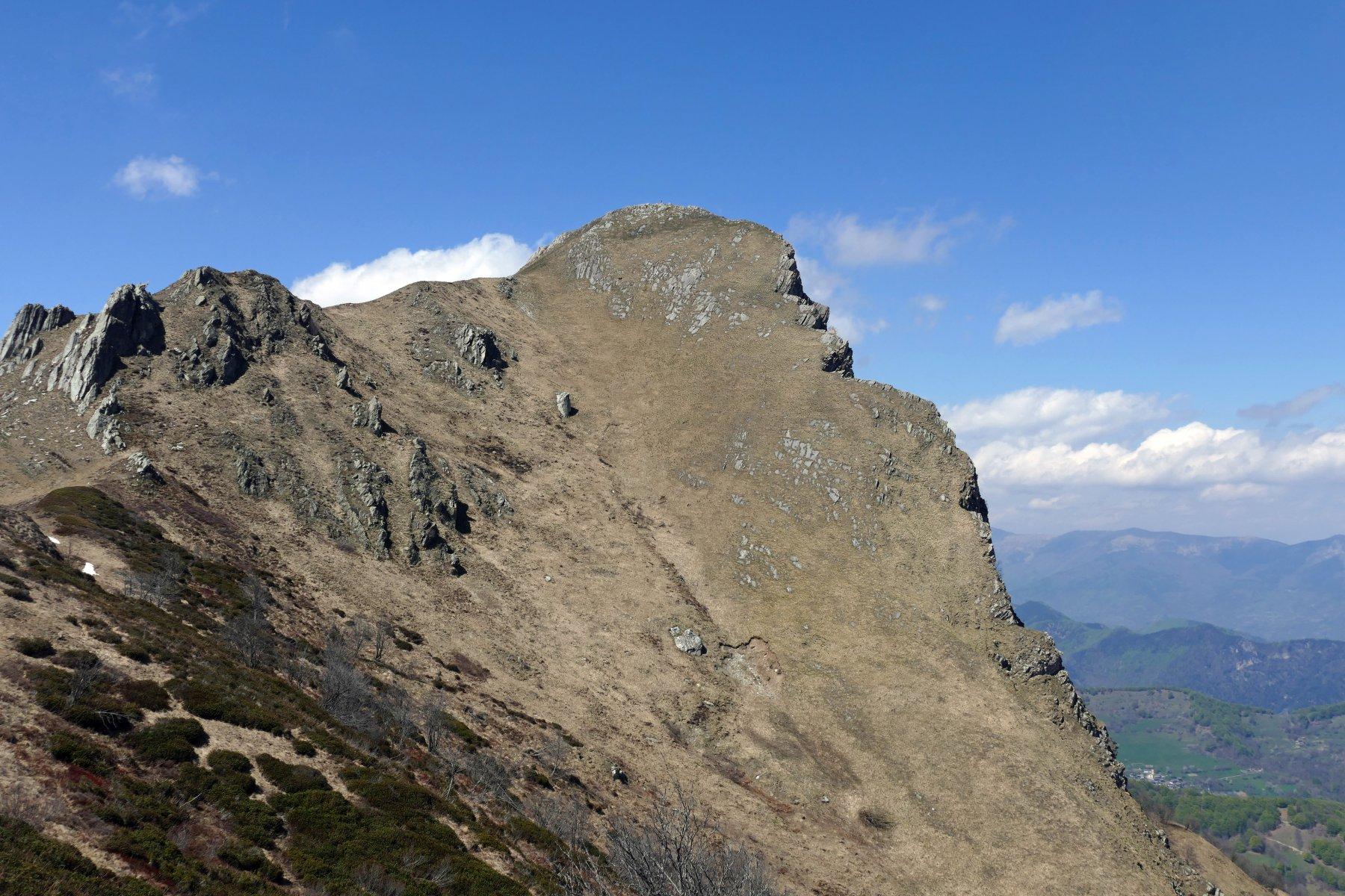 Radevil (Rocca) da Case Rounvel e il colle dell'Ortiga 2016-04-26