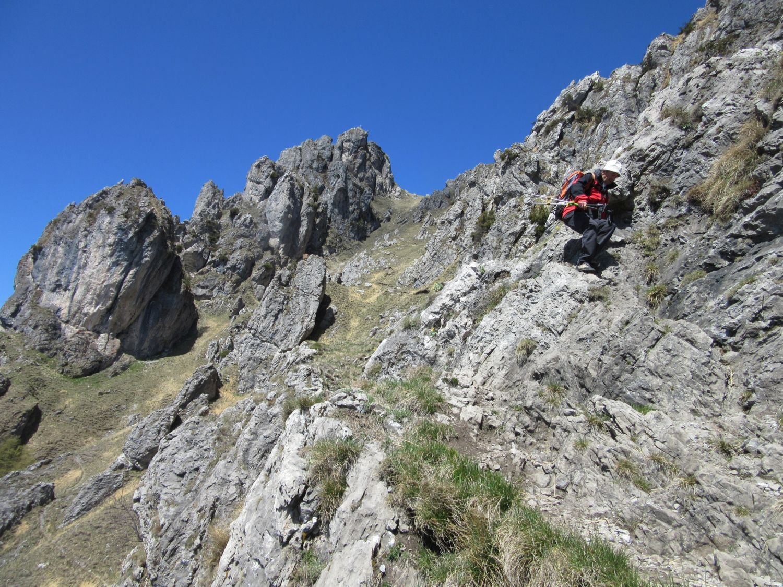 Grona (Monte) da Monti di Breglia, direttissima per Rifugio Menaggio 2016-04-27