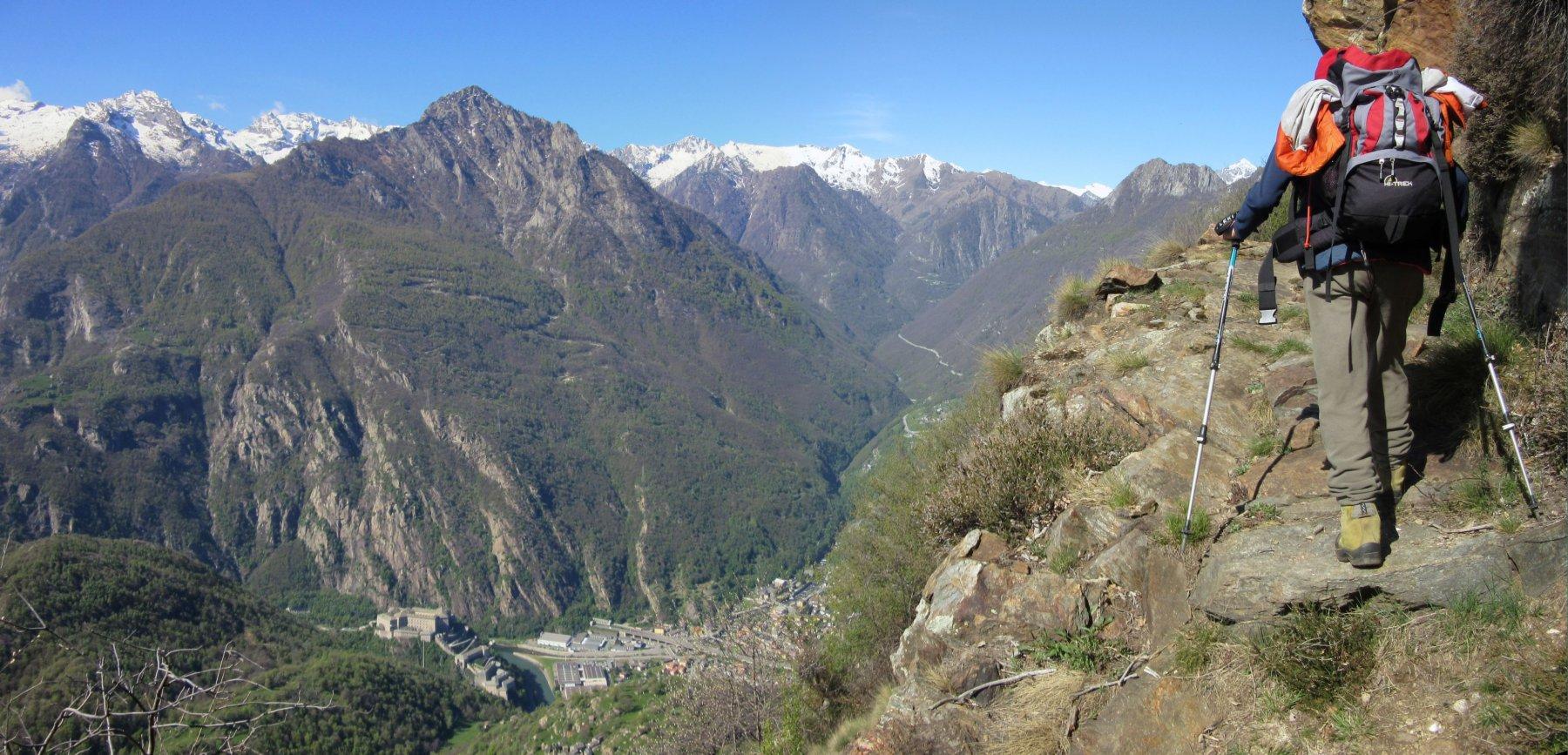 Mulattiera panoramica