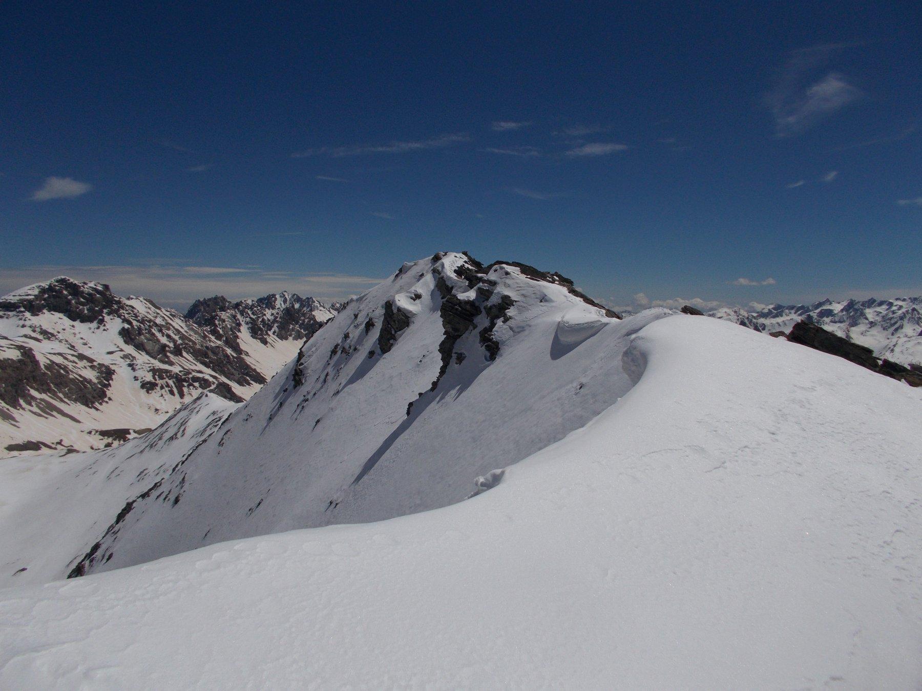 il Monte della Signora..dalla crete de Blaves..