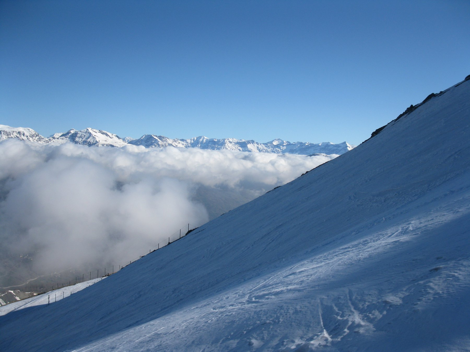 Nebbie dalla valle
