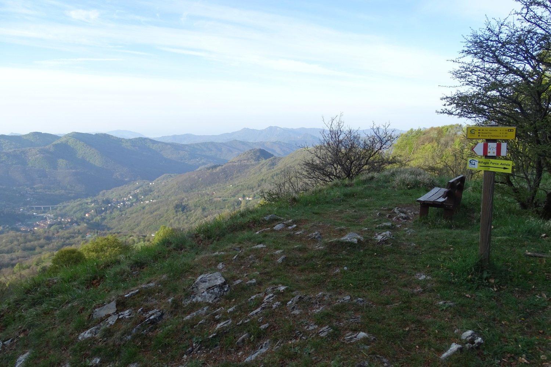 punto panoramico al Passo dei Colletti