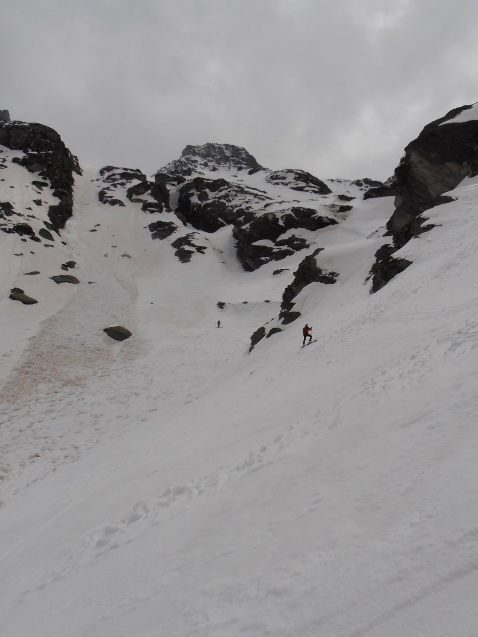 13 - fine parte tecnica, abbiamo sciato lì in mezzo