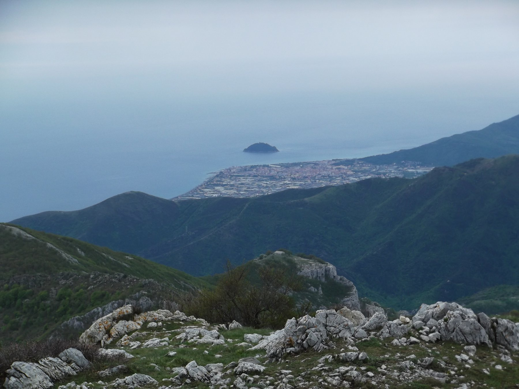 Albenga e Isola Gallinara.