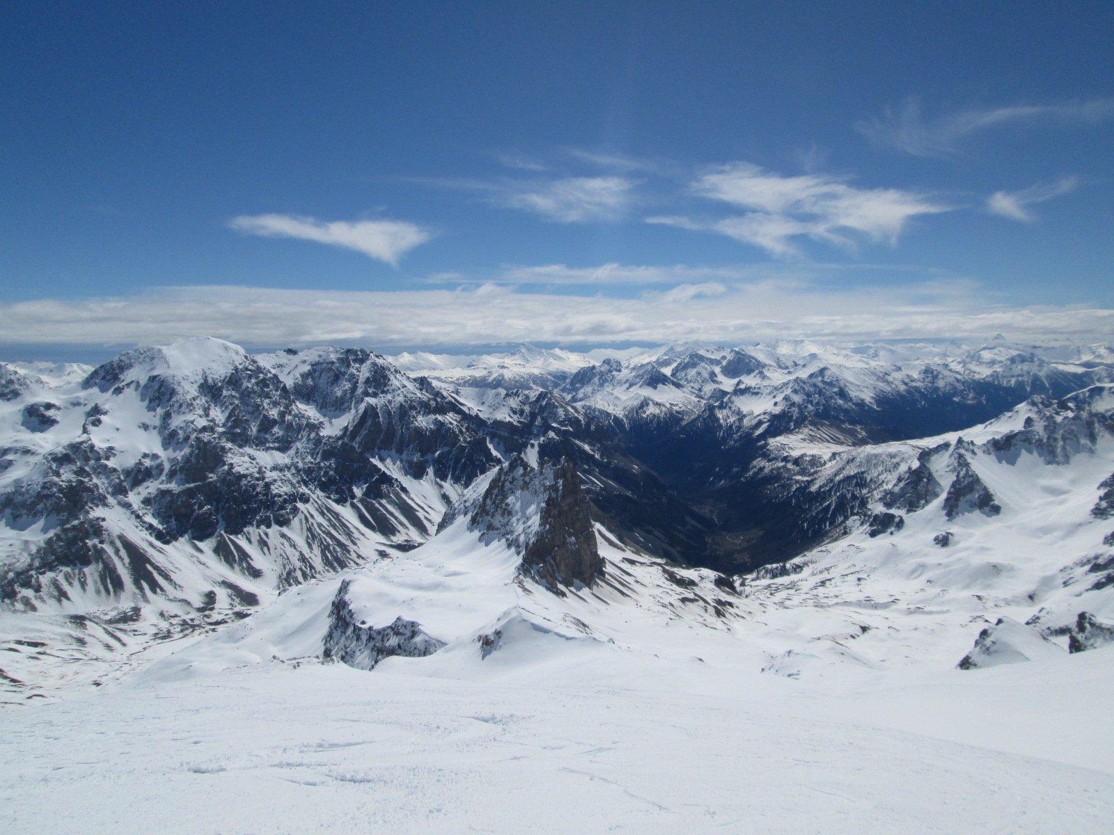 panorama verso la Valle Stretta