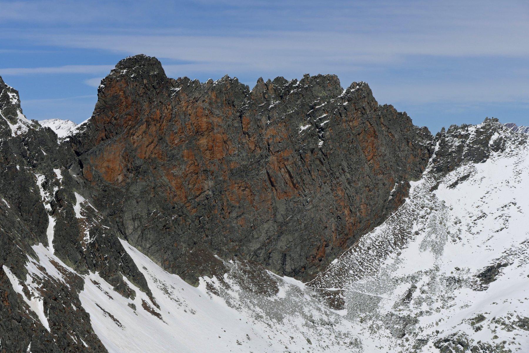 Zoom su Rocca Gialeo 2983 metri
