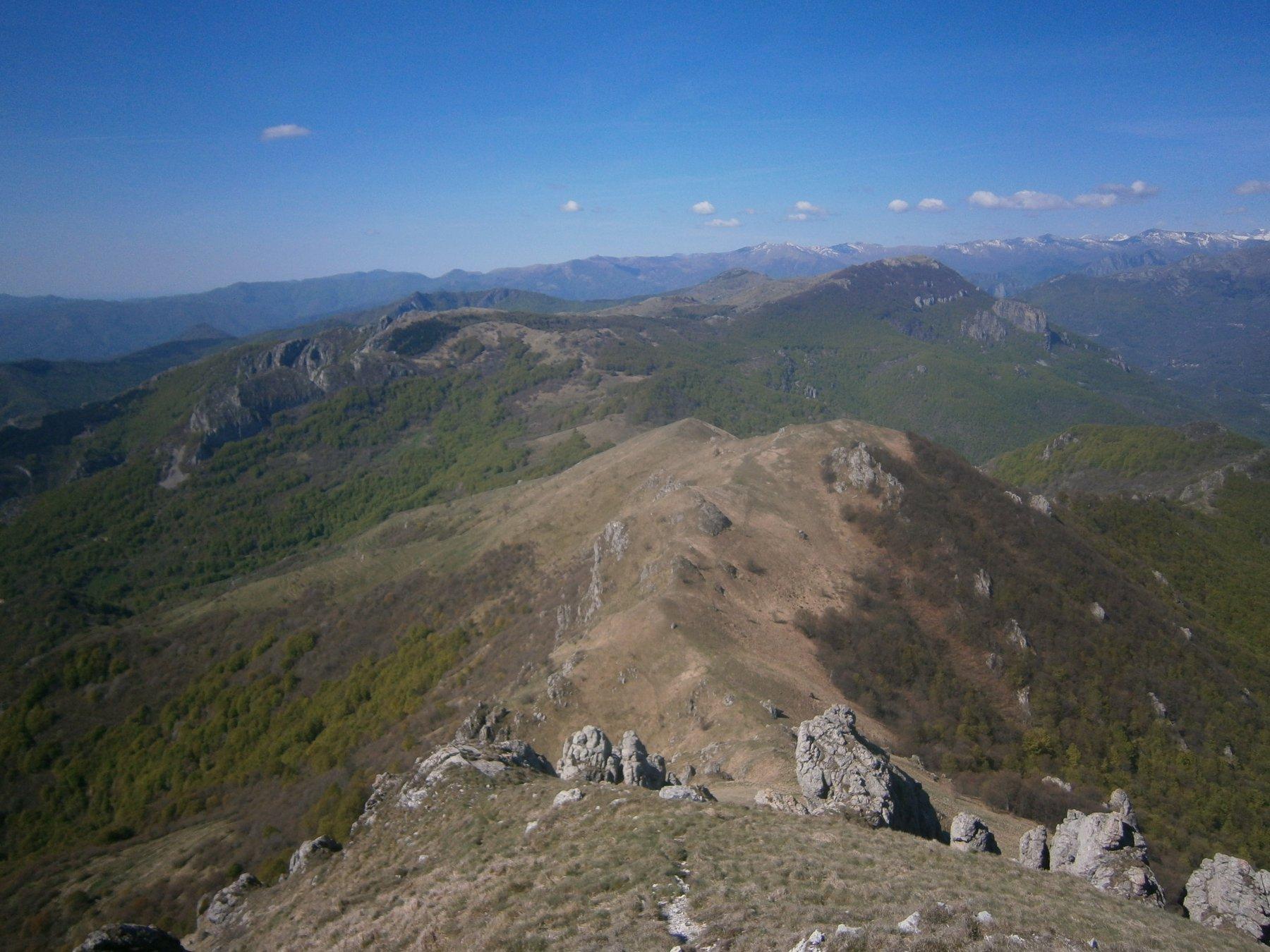 Panorama con Dubasso e Armetta