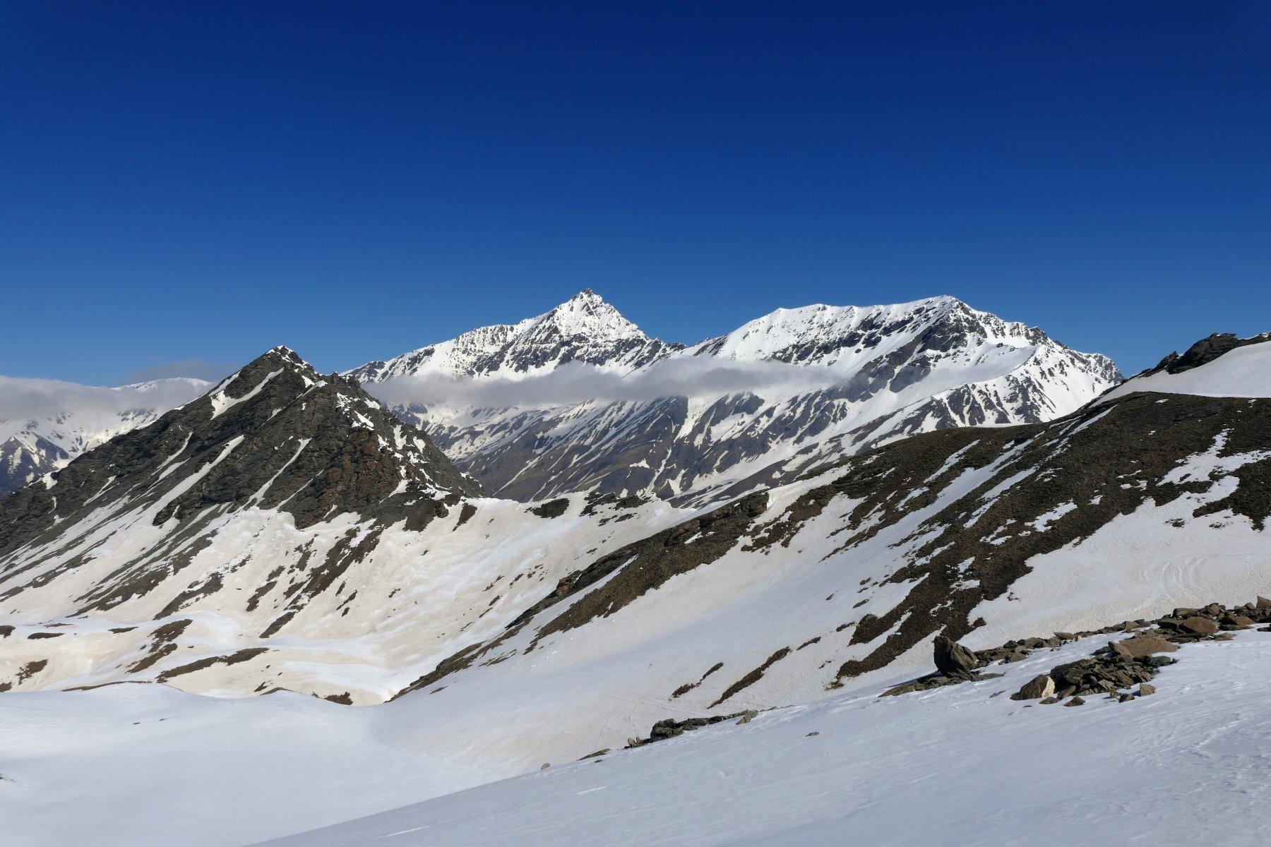 Bello scorcio panoramico salendo nel vallone principale