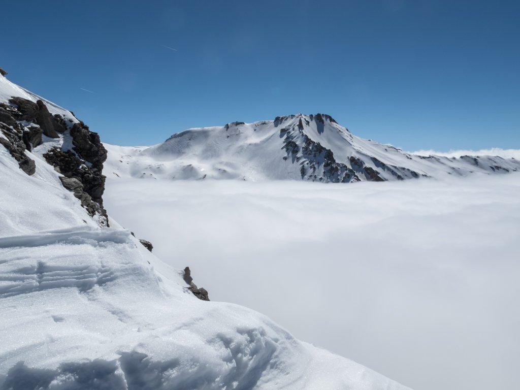 Mare di nubi dalla punta...