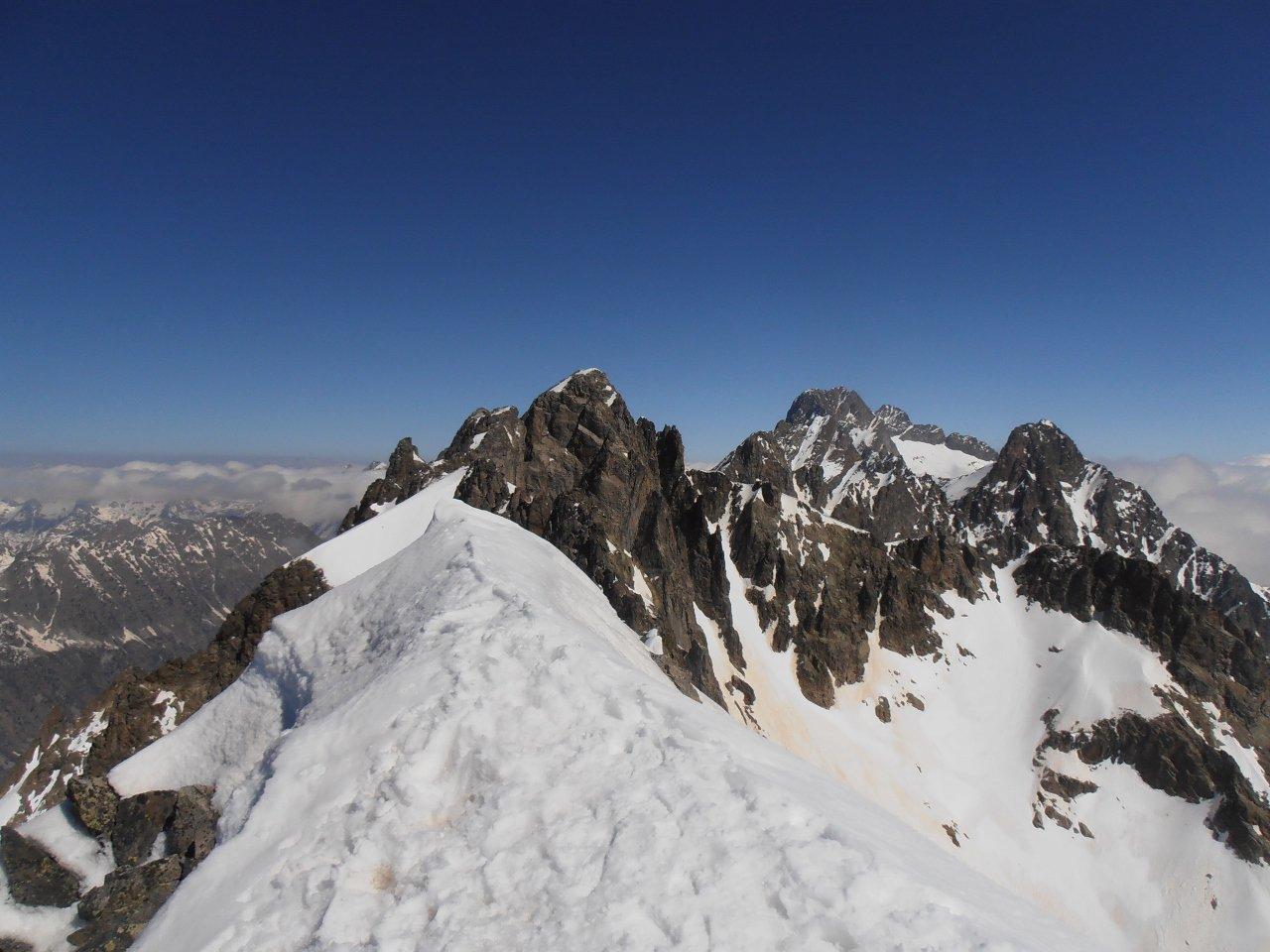 02 - l'Argentera dalla cima