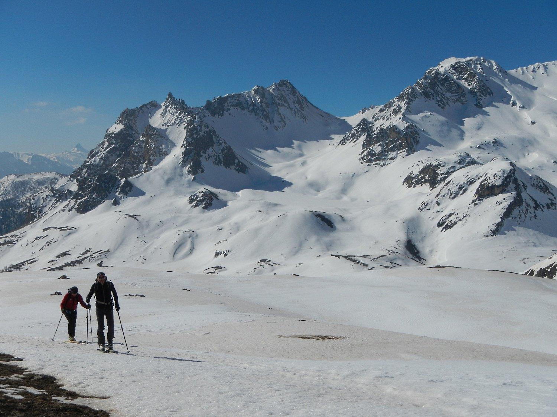 sullo sfondo il Col du Vallon
