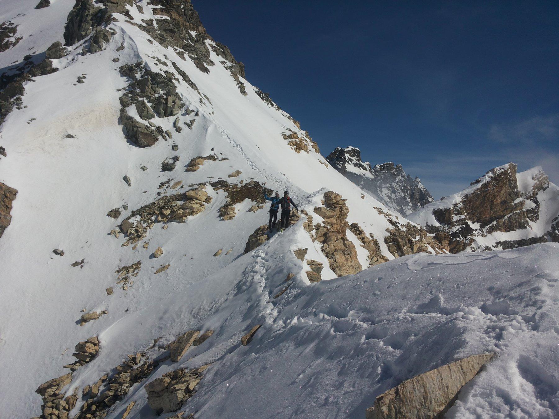 parte bassa della cresta
