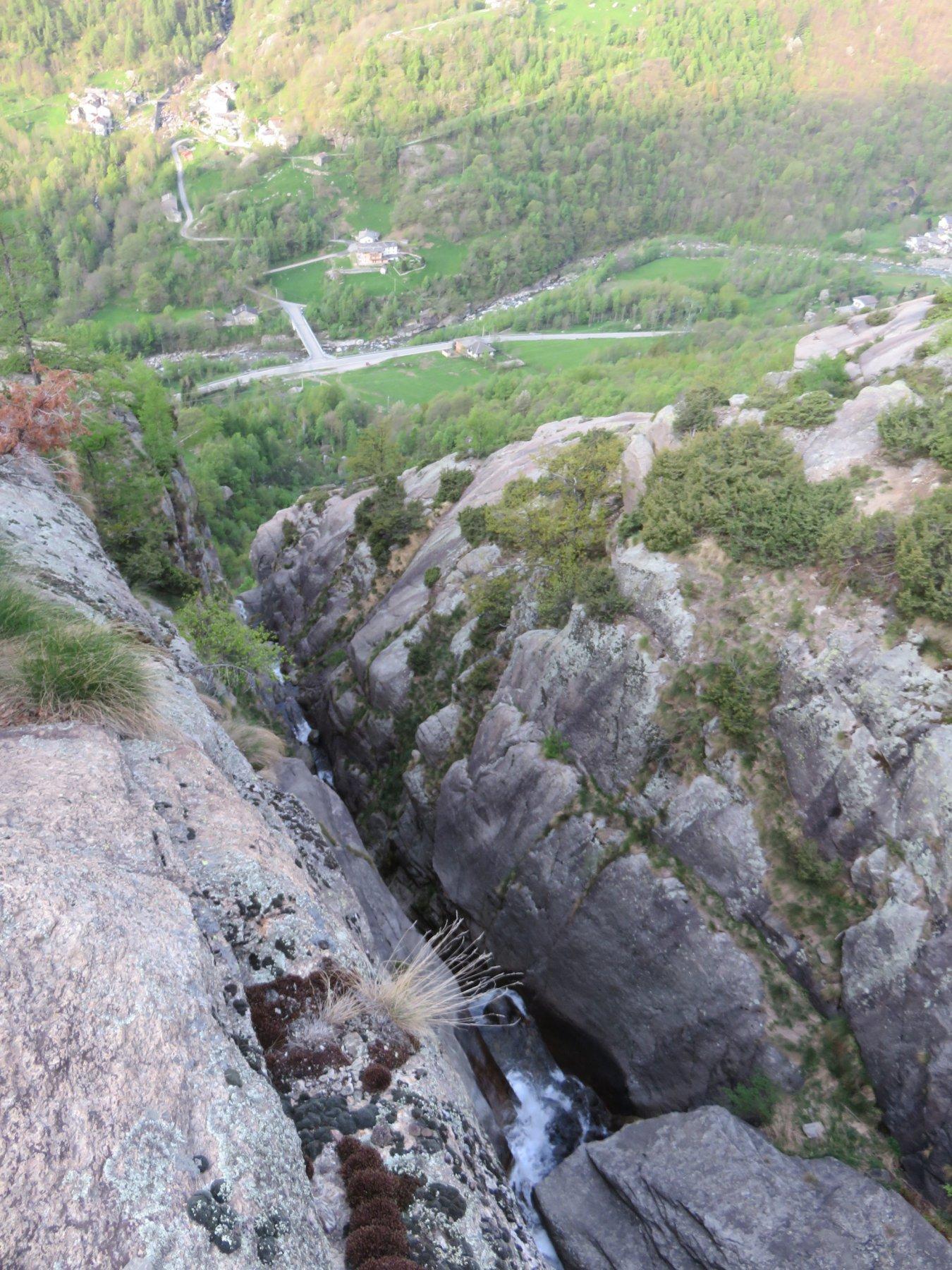 Profondo solco del Rio Ghier