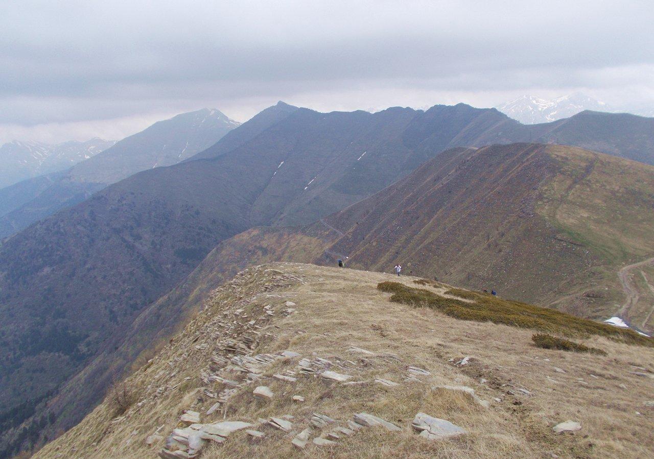 Saccarello (Monte) e Monte Frontè anello da Monesi 2016-05-08
