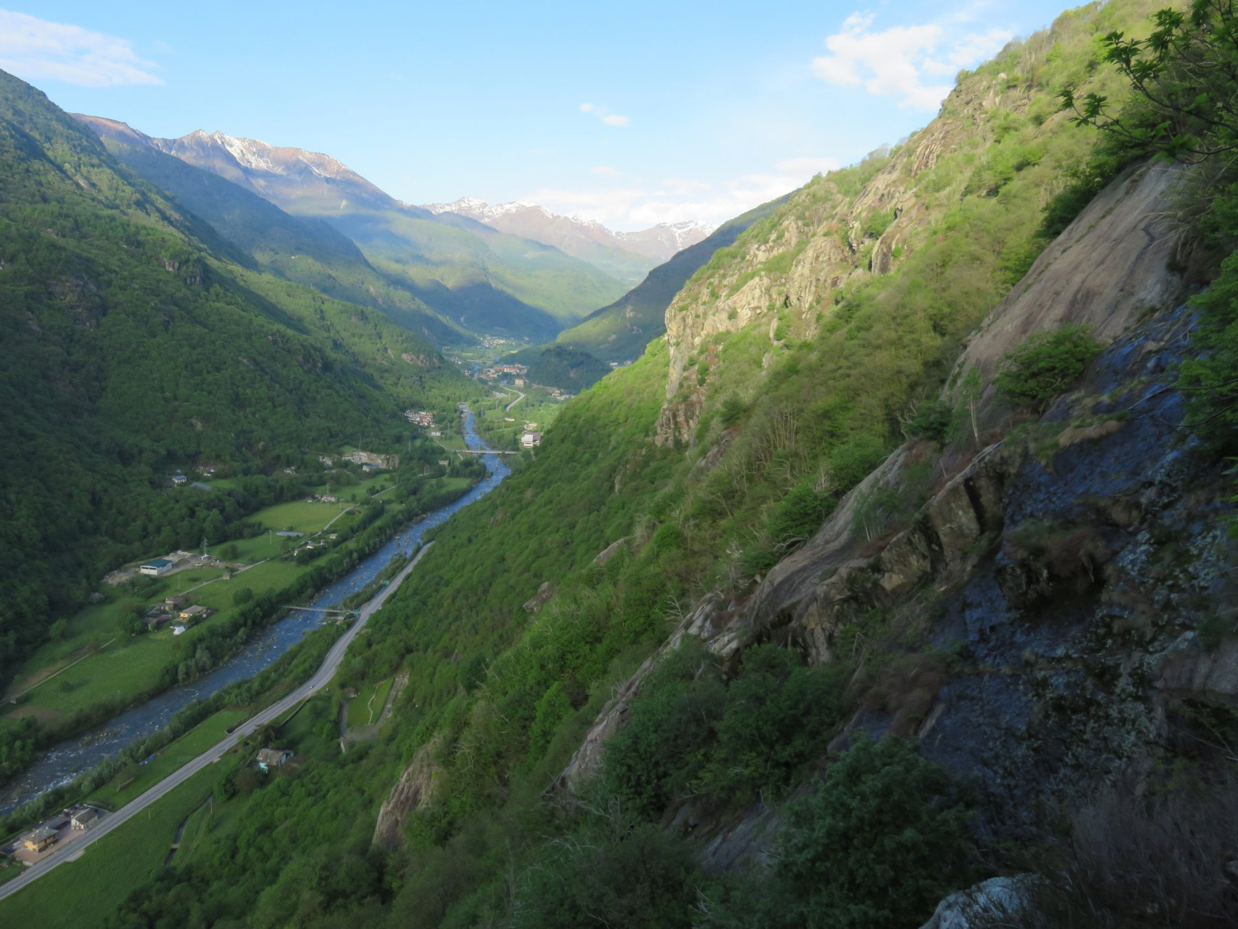 Valle dell'Orco, salendo a Piancerese