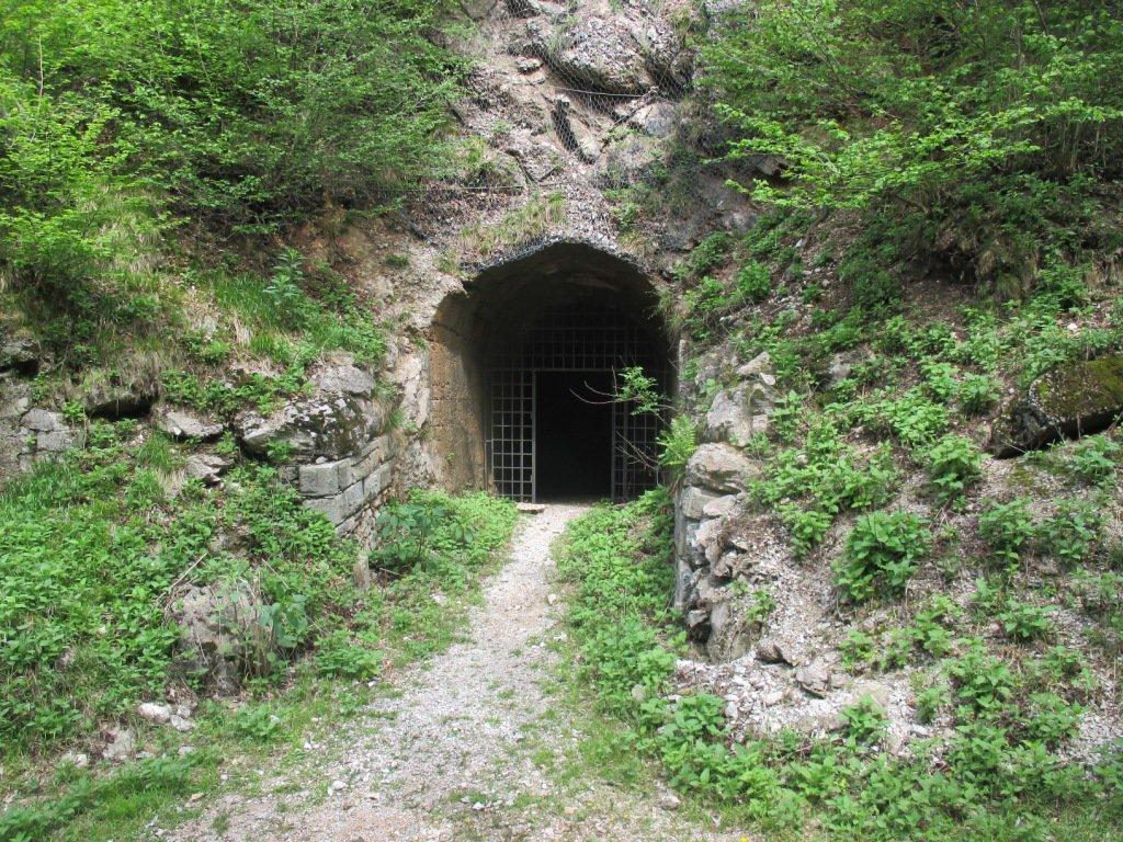 sotto il forte di Val Alta
