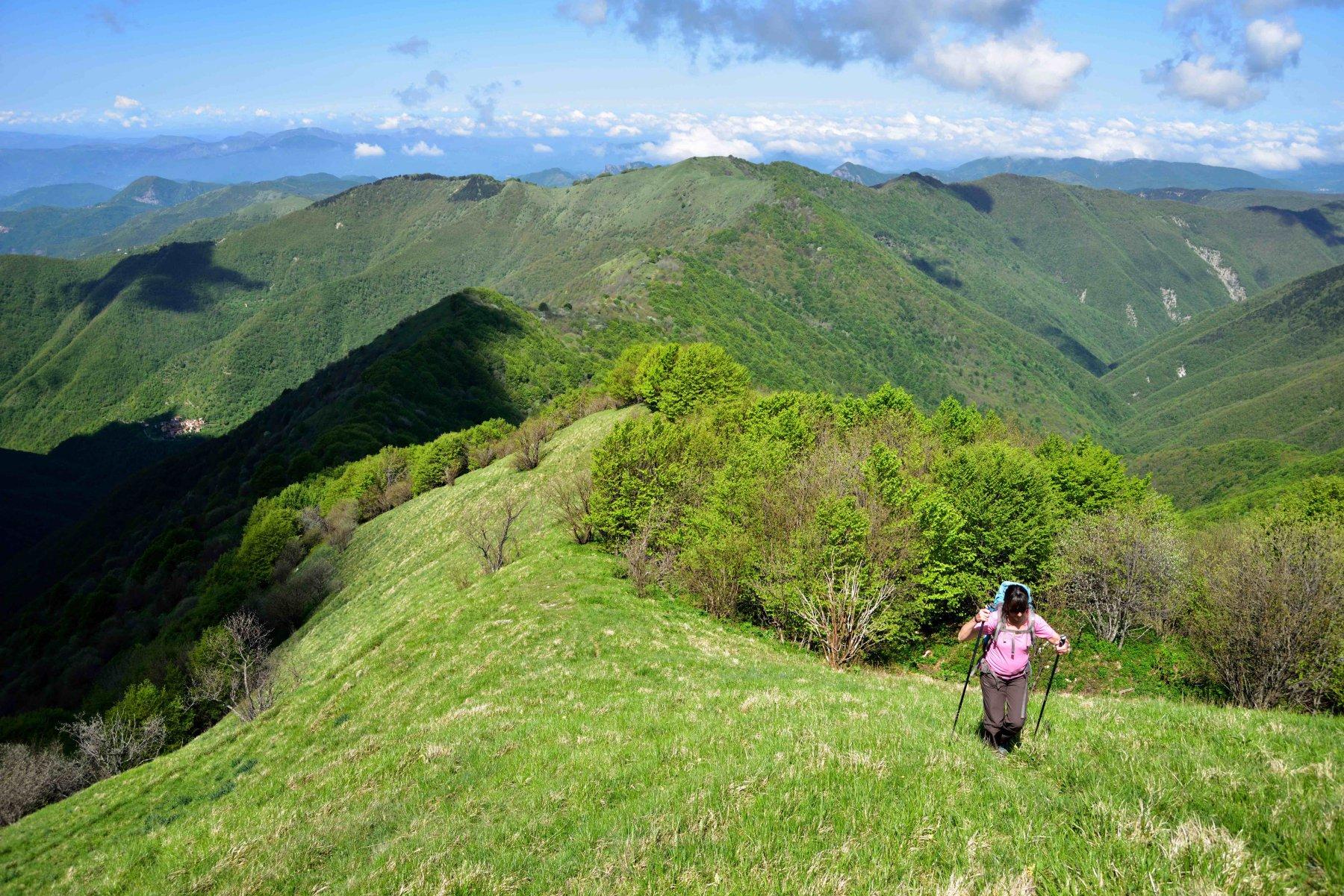 Cresta ovest M.Antola