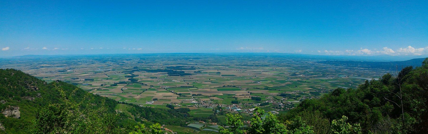 Panorama dalla Croce di Envie