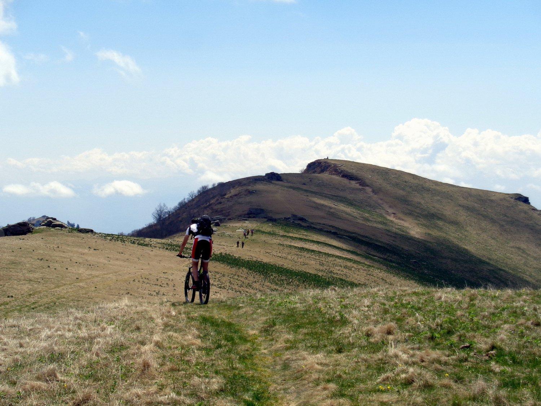 la in fondo il monte Cornet