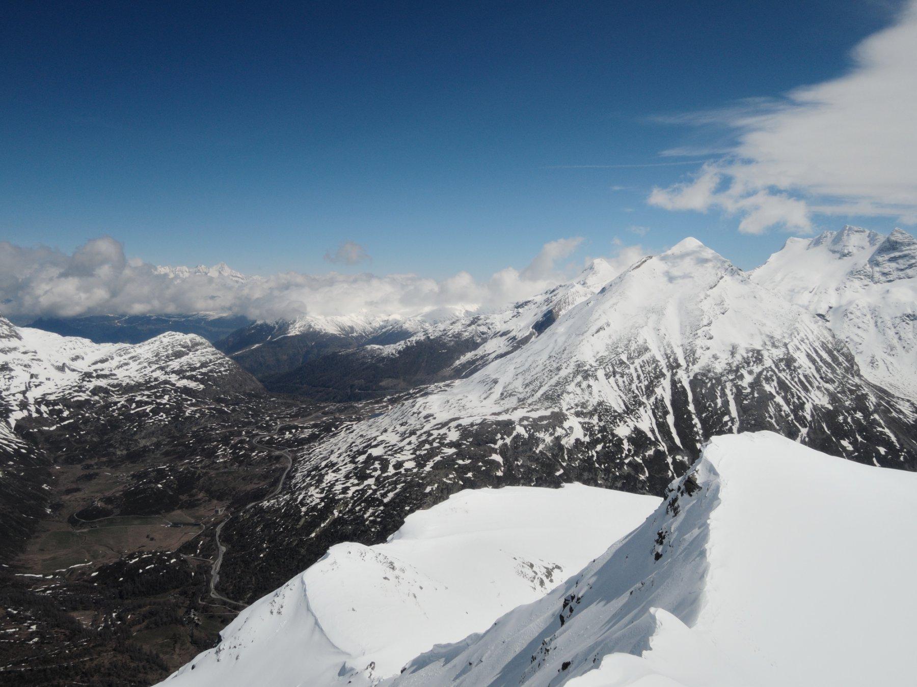 Zona del Sempione vista dalla cima