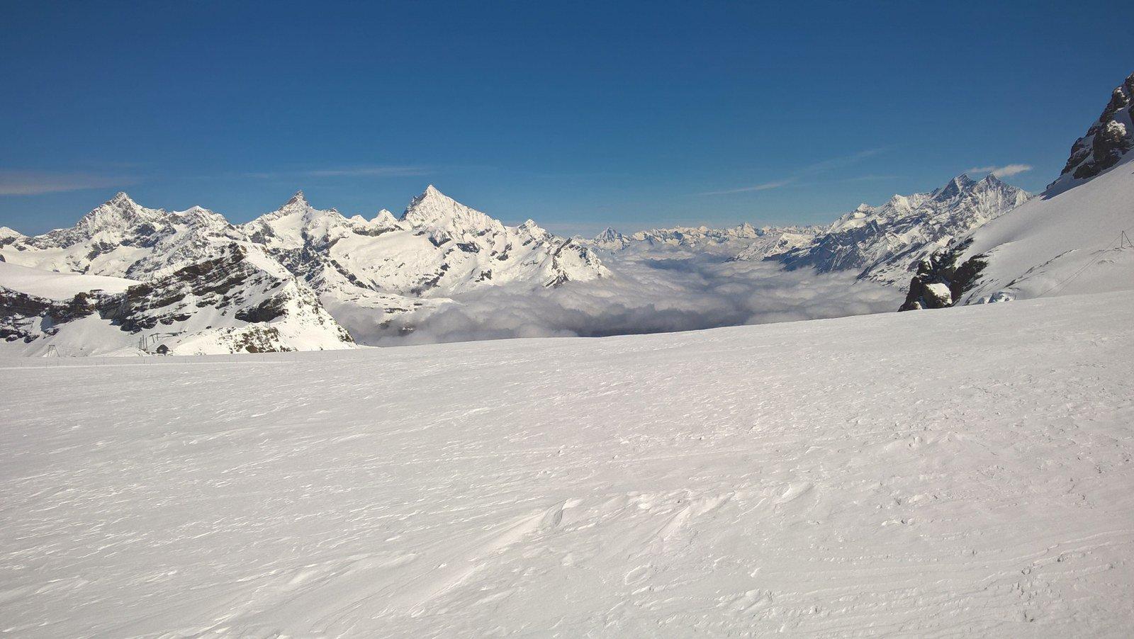 Dopo Plateau verso la Svizzera