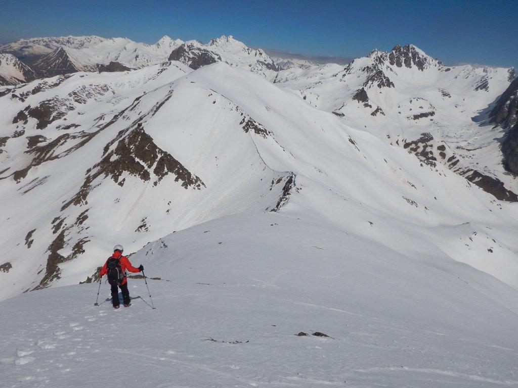 Discesa agli sci