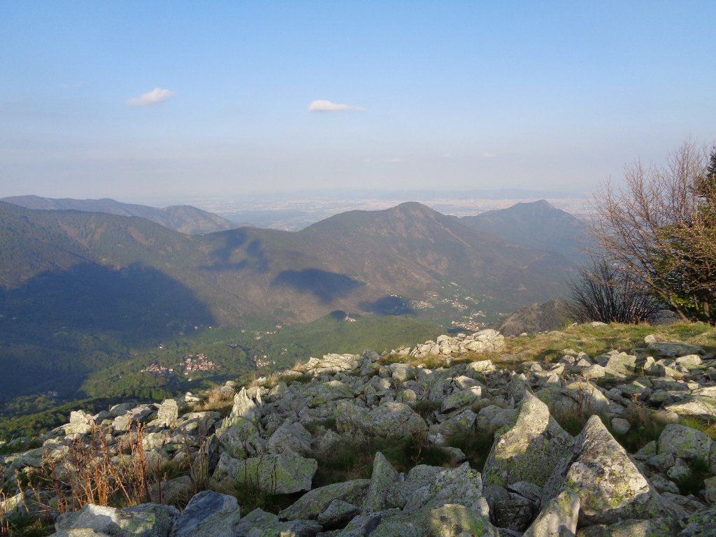 vista su Bassa Val Susa