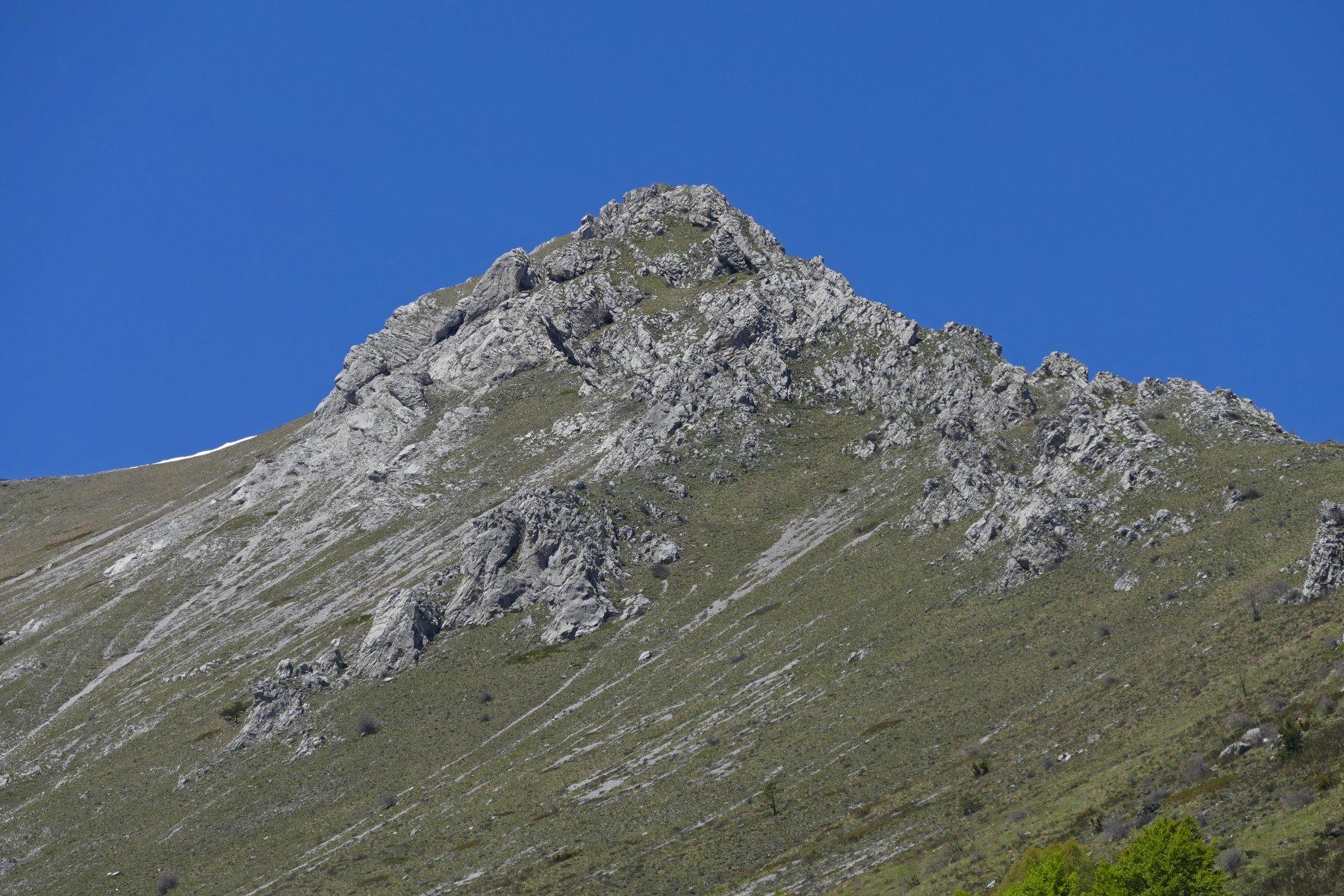 Il Bec Baral e la cresta est