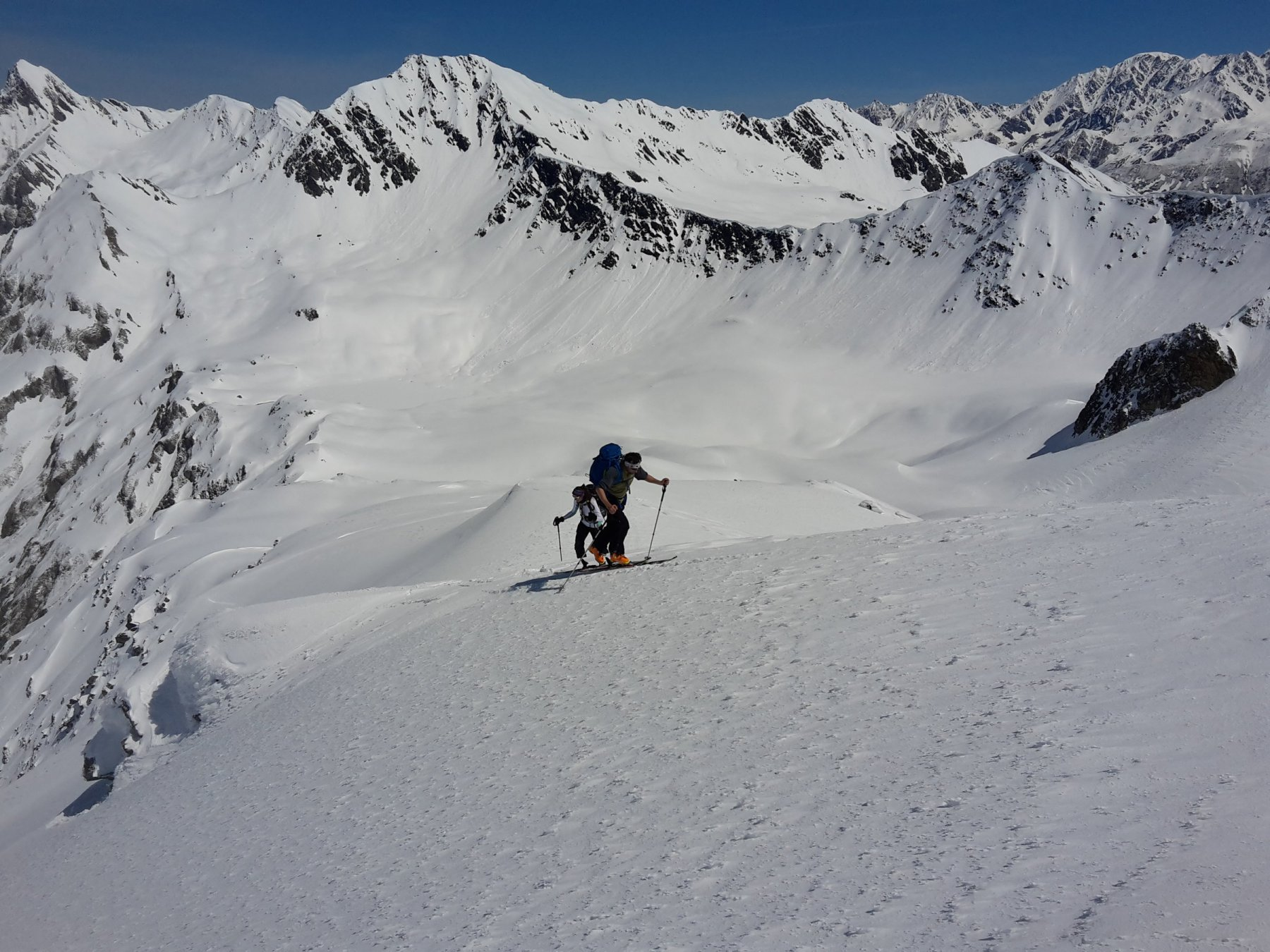 Fourchon (Mont) e Tête de Fenêtre da Montagna Baus, giro 2016-05-20