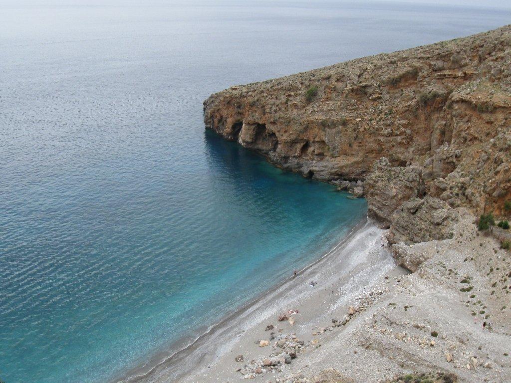 e finalmente la bella spiaggia di Iligas