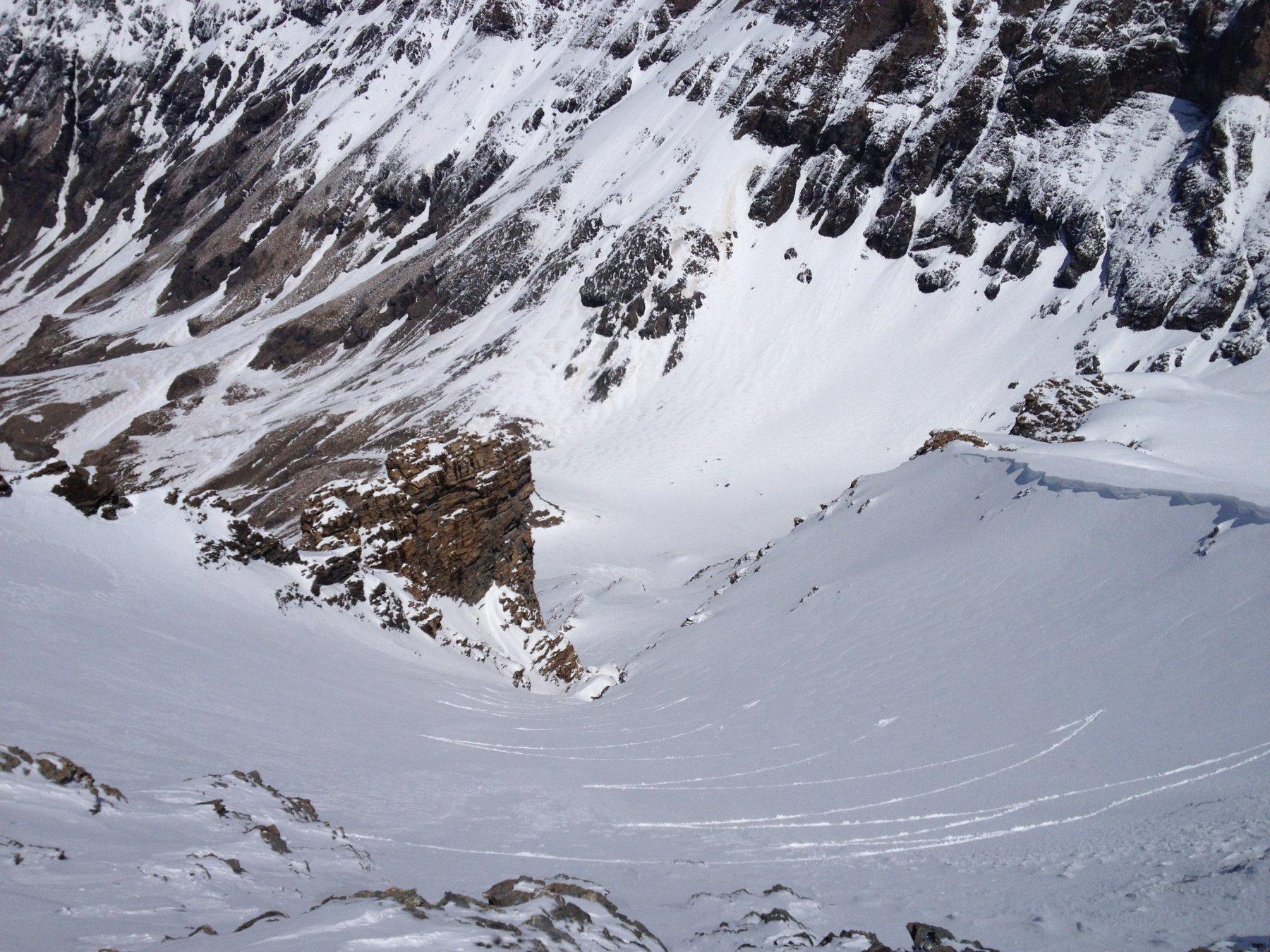 Uscita del canale vista dall alto