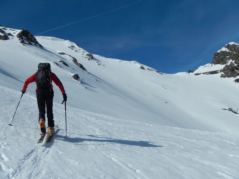 il Colle della Ramière  3007 m.