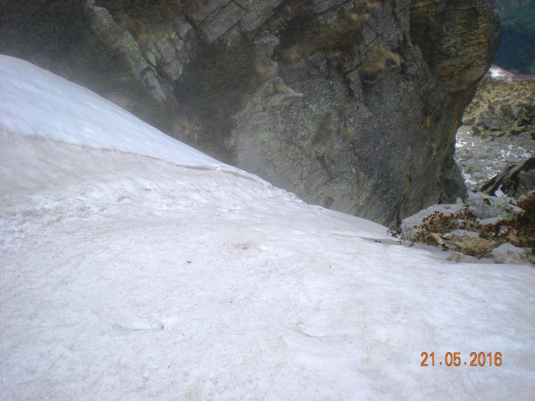 sbocco del canale da monte