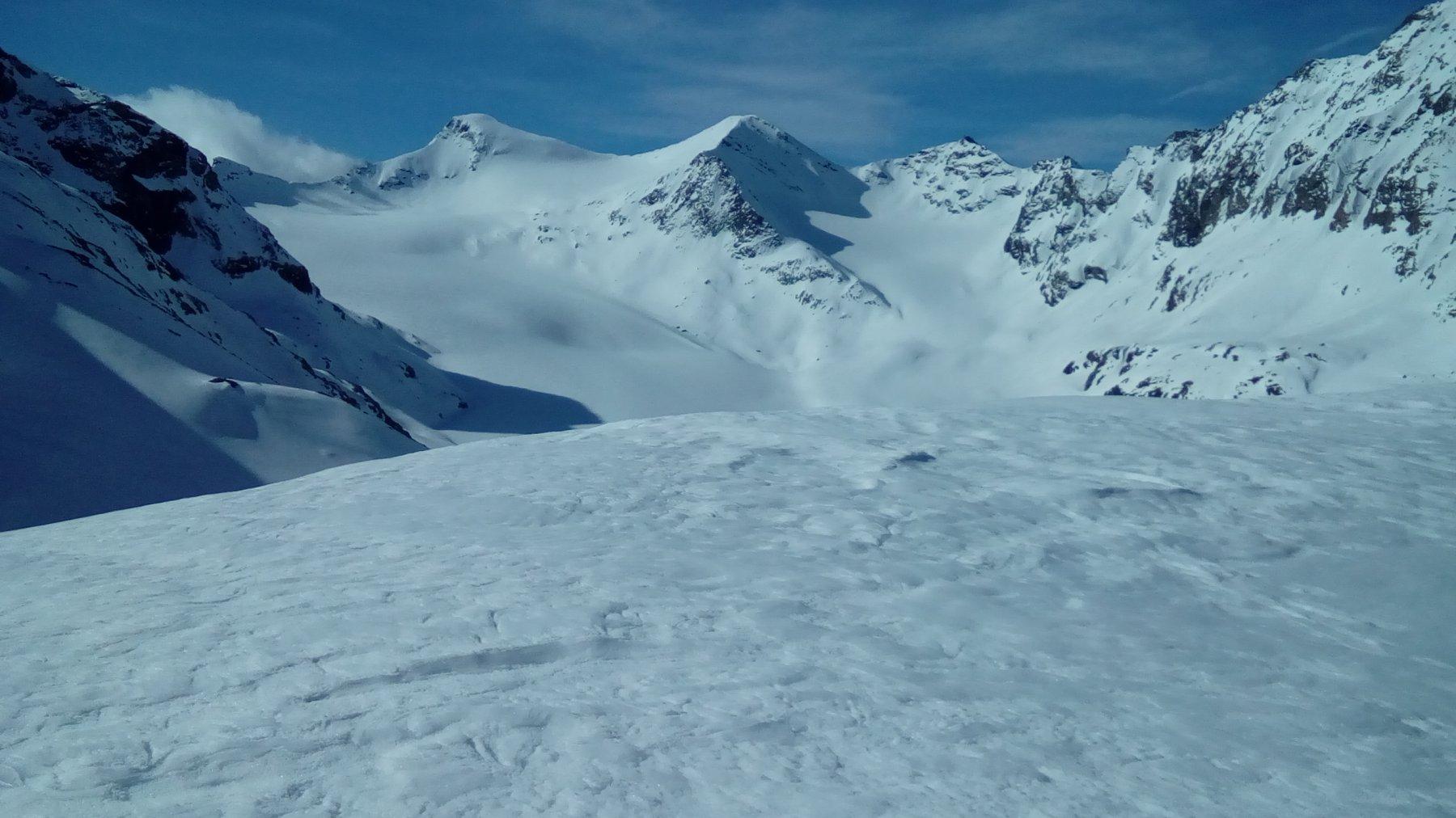 Il ghiacciaio della Croce Rossa