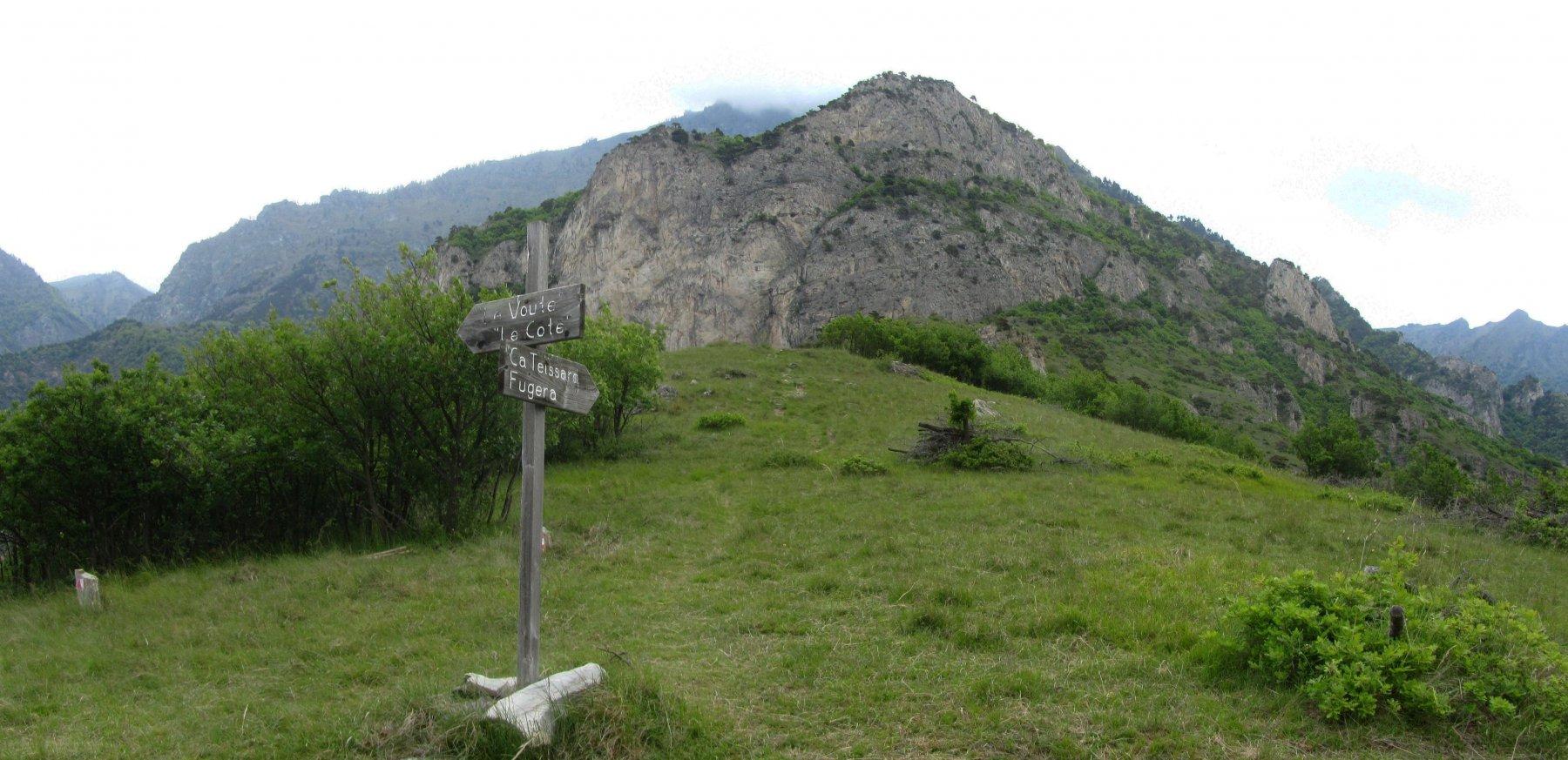 Ciarmetta (Monte) da Foresto per il Truc San Martino e Fugera 2016-05-22