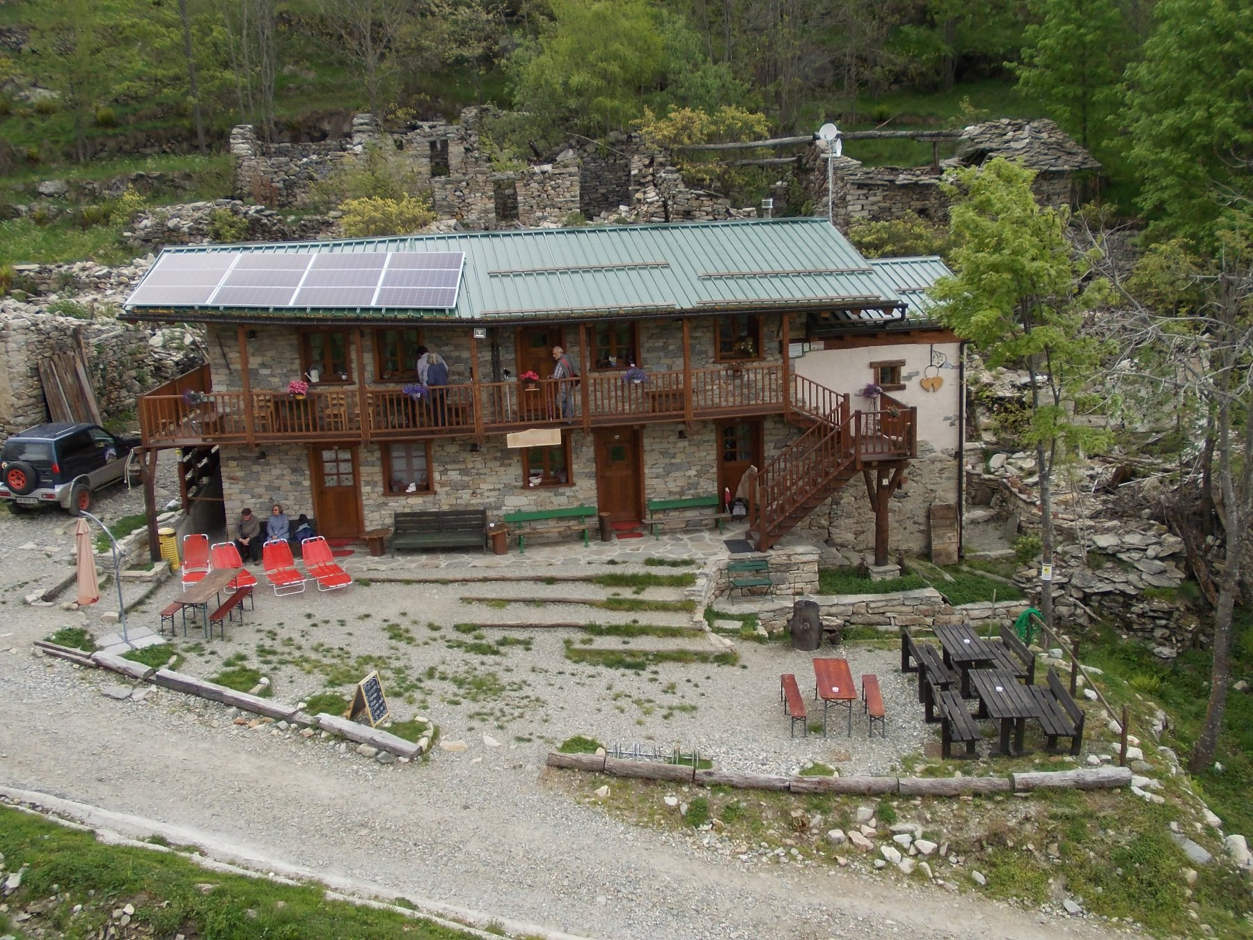 rifugio Santa Pulenta