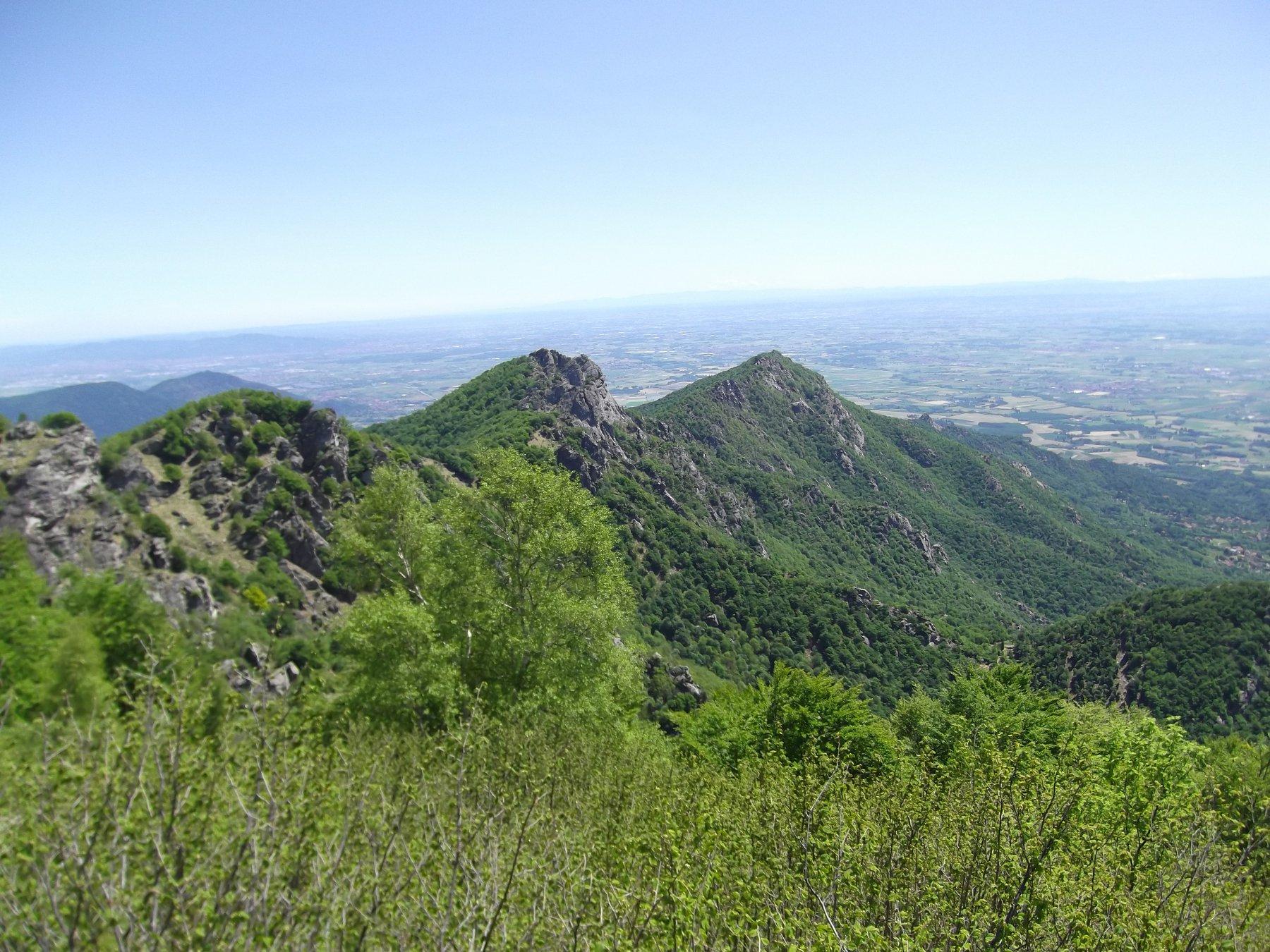 la cresta dal Monte Freidour.