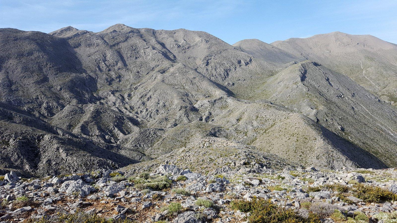 La valle da cui si ritorna al Mitato Kakoperato