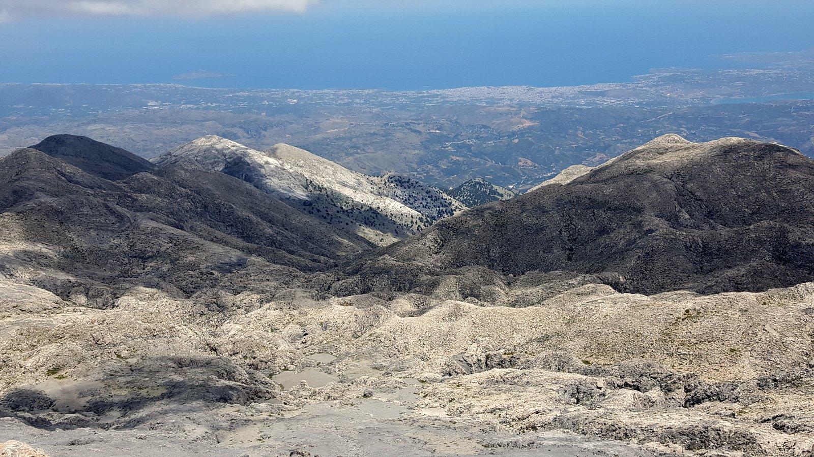 Vista spettacolare sulla Chania' e la costa nord.