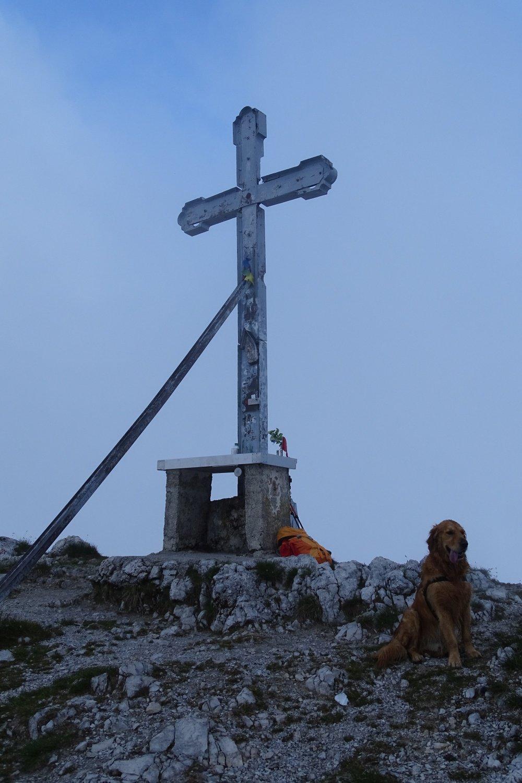 in vetta alla Cima della Croce