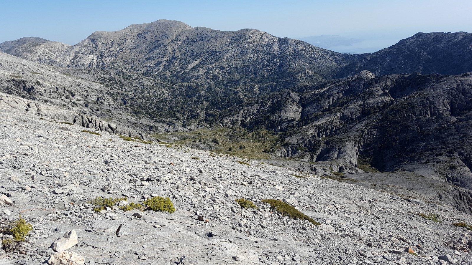 La valle di Kakò Kasteli