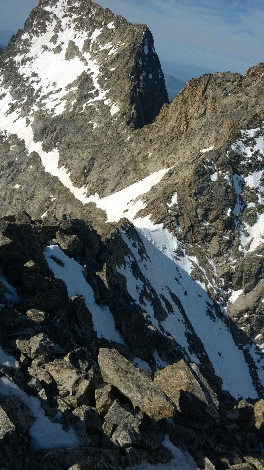Colletto Coolidge dal Monte Stella