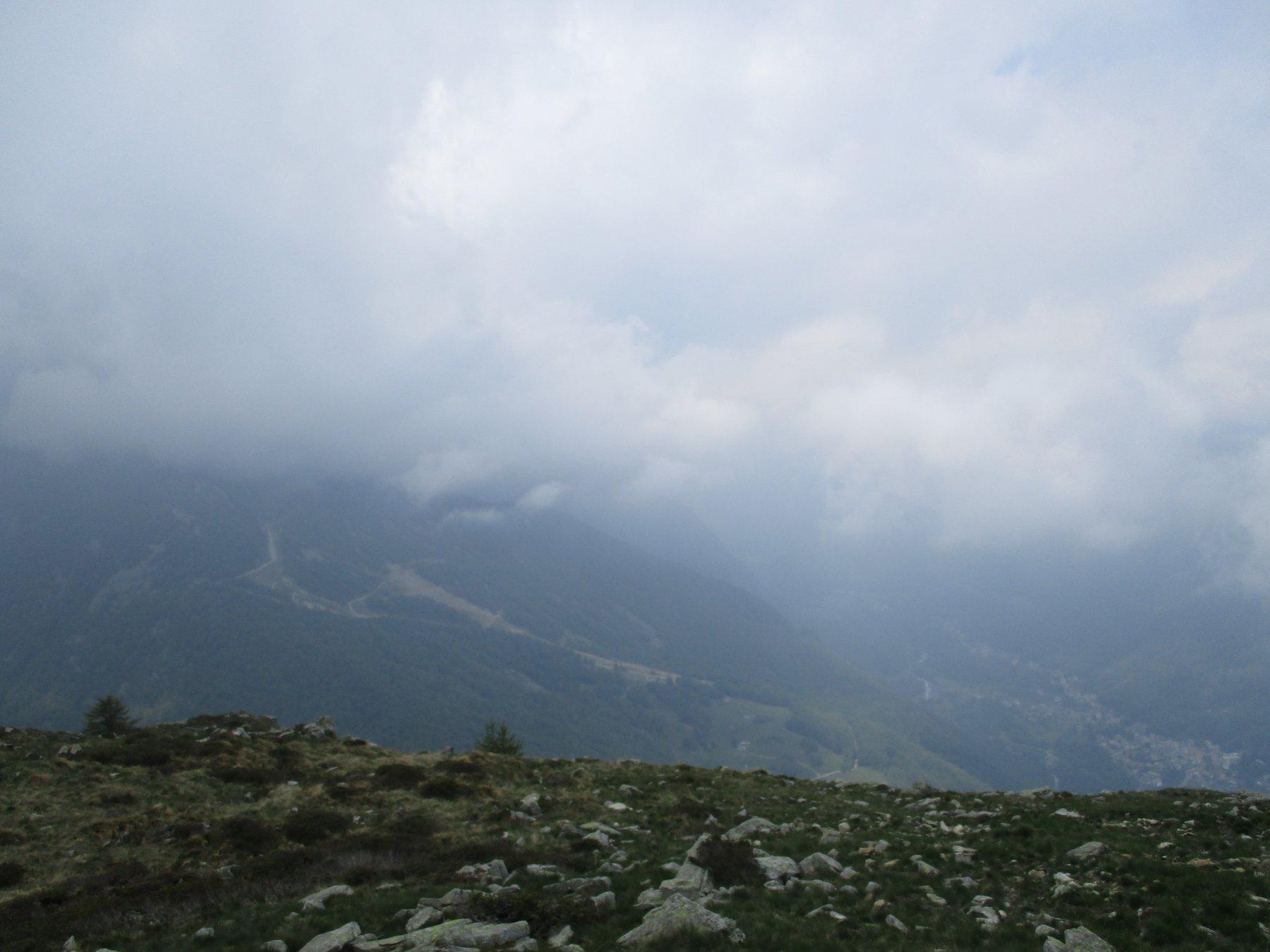 Dalla cima verso Ala - Belfè