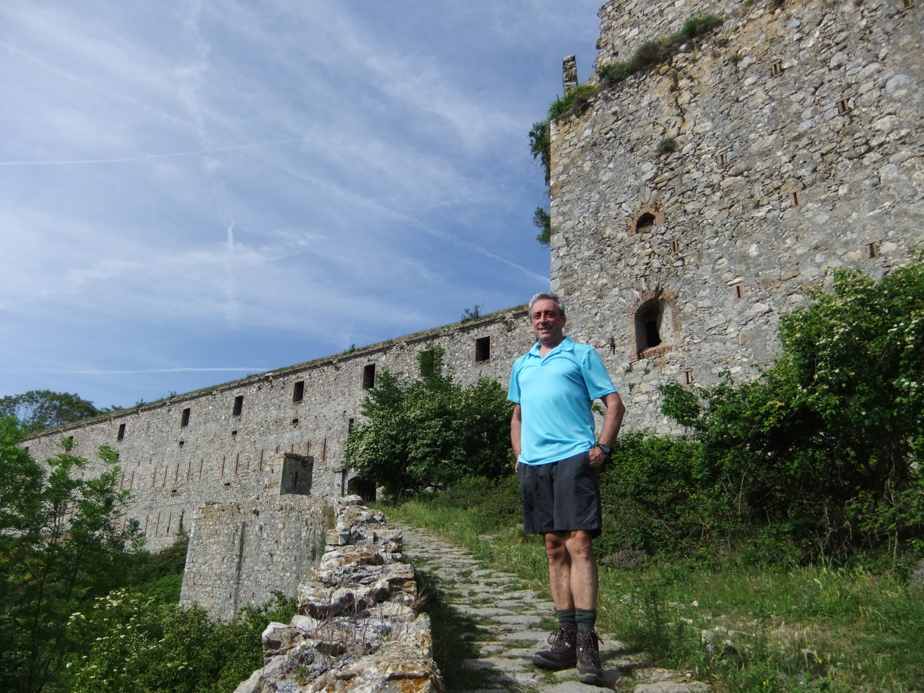 Davanti al Forte Ratti
