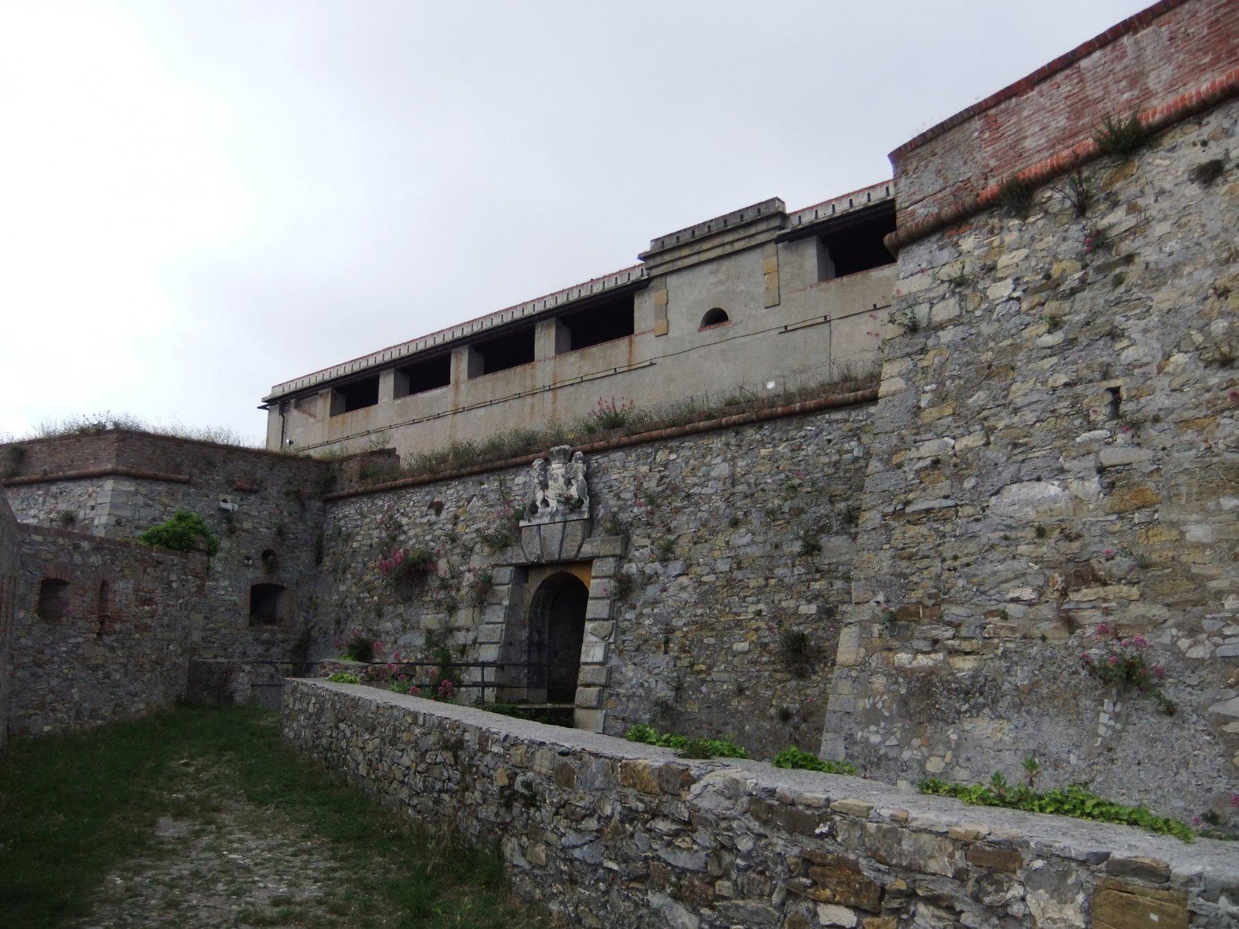 Ingresso di Forte Santa Tecla