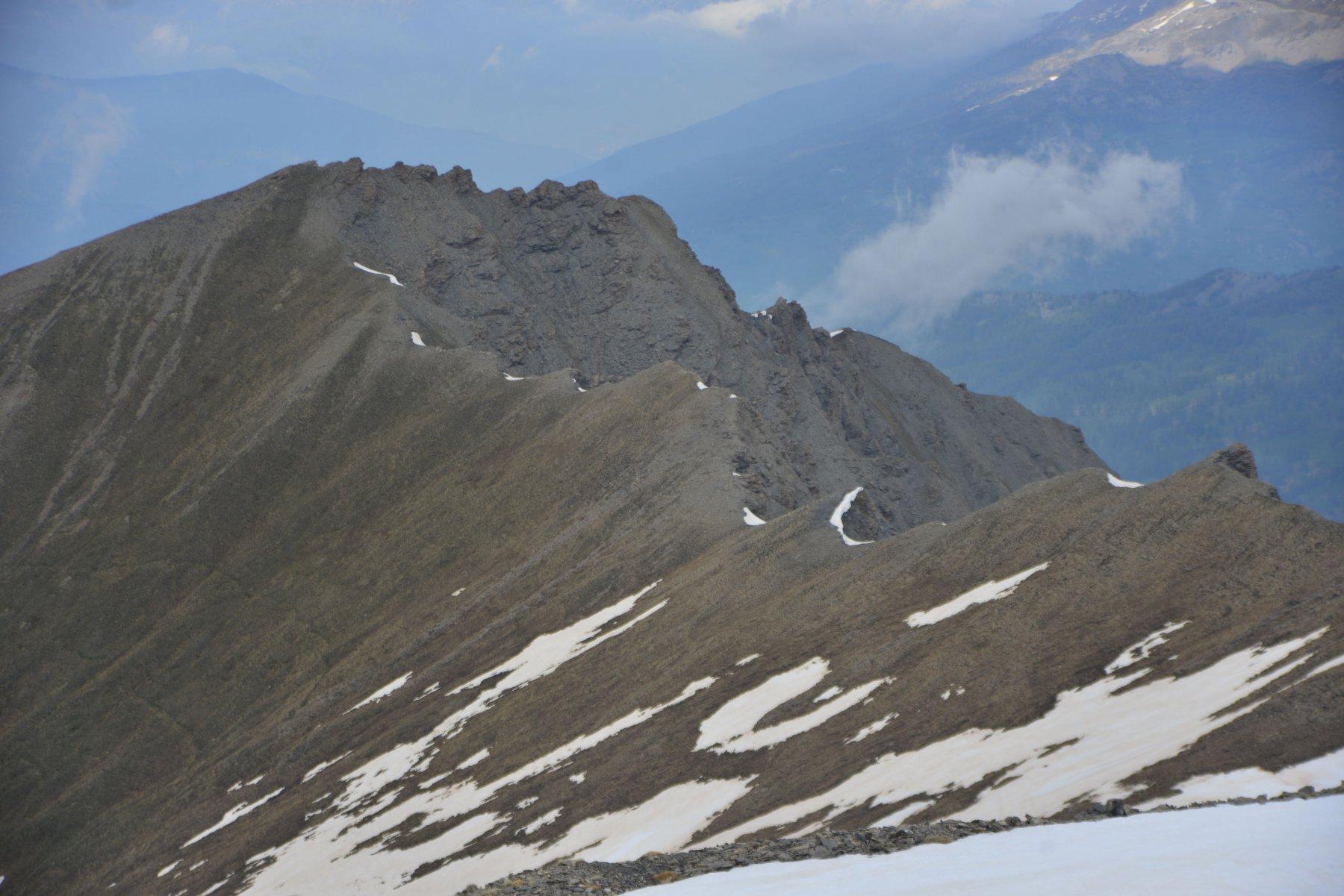cresta verso punta Dorlier