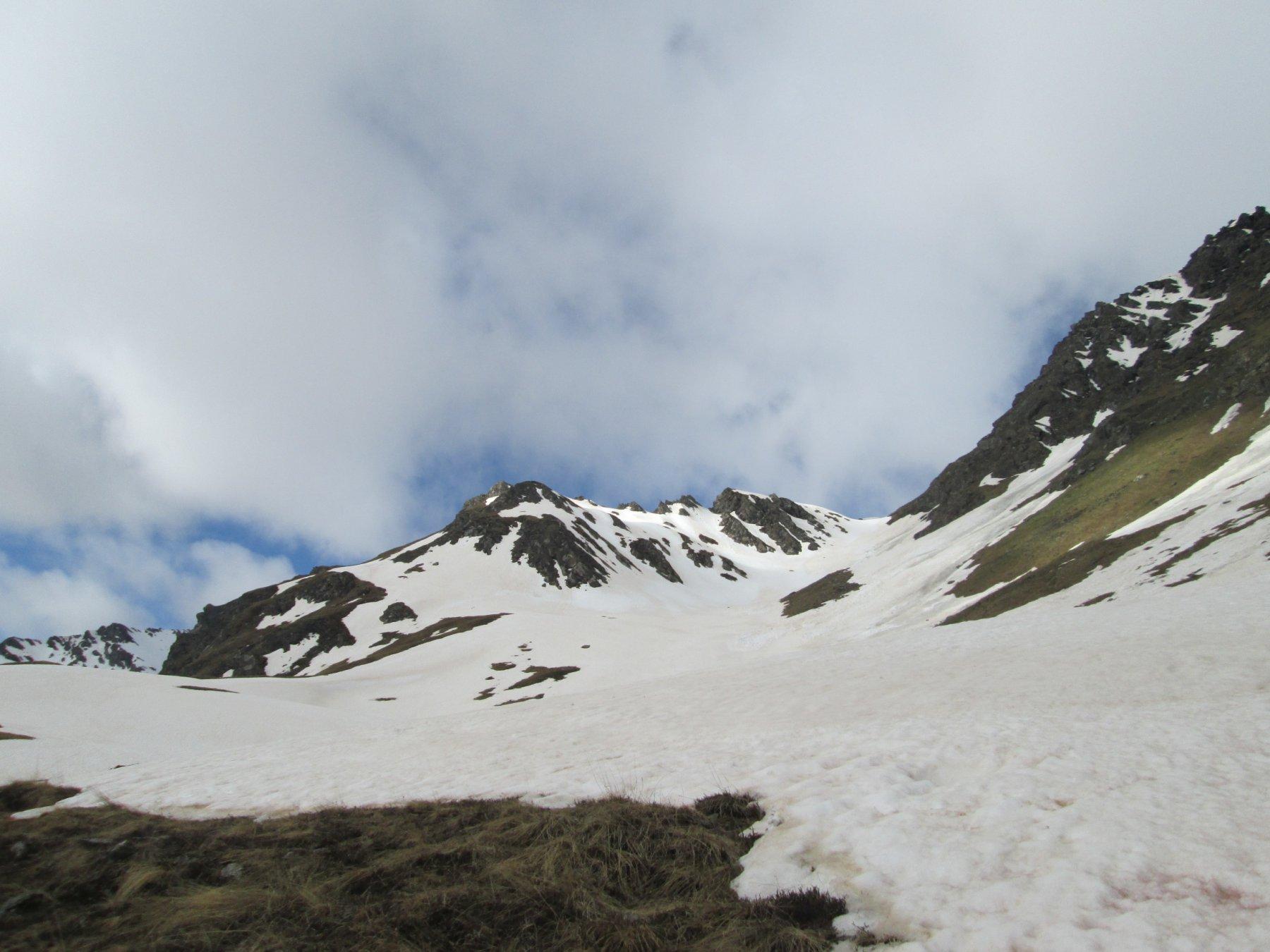 Ramiere (Punta) dalla Valle Argentera per il vallone NE dell'ex-ghiacciaio 2016-06-02