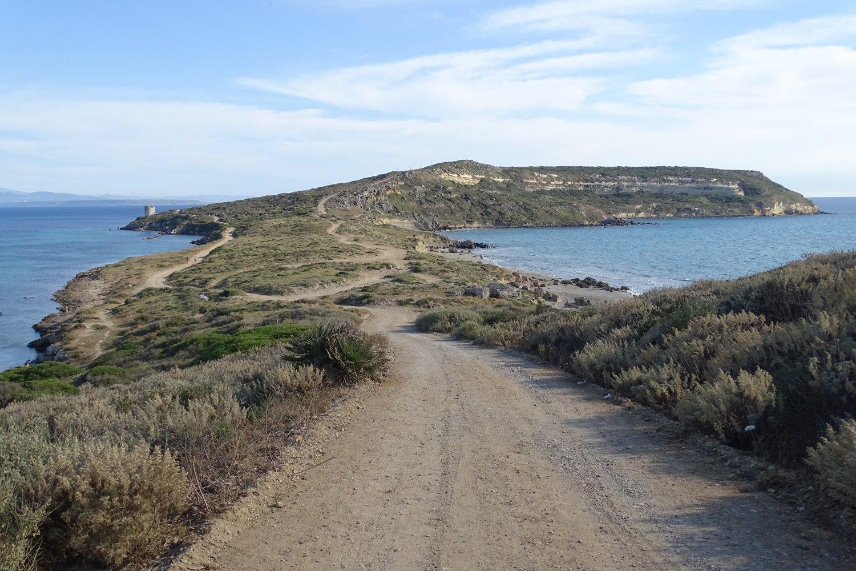 in direzione di Capo San Marco