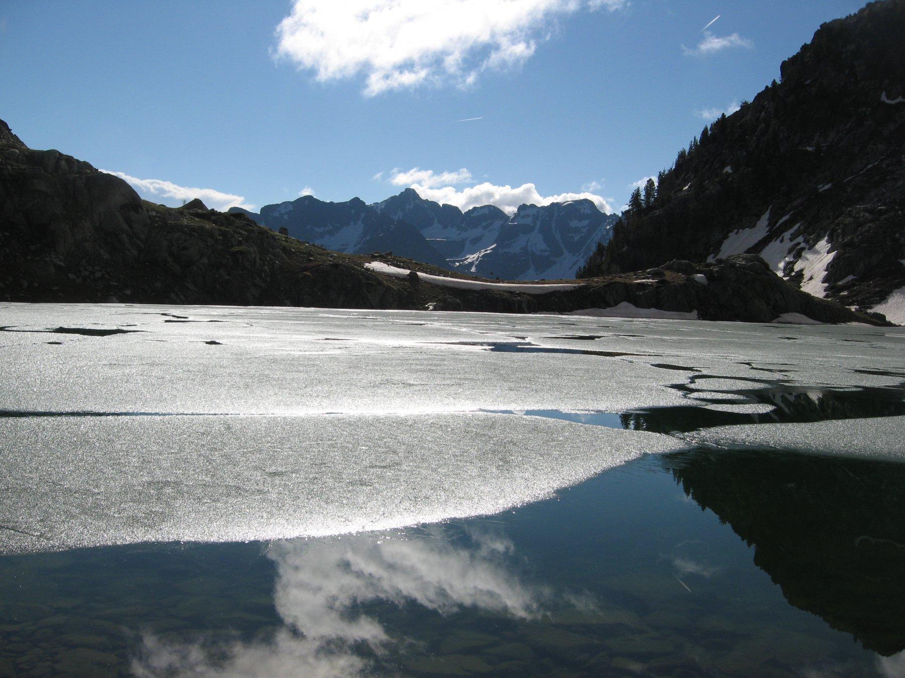 Lago soprano dell'Aver