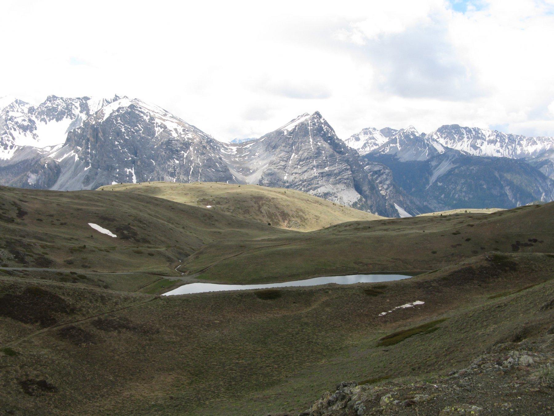 il Lago dei Sette Colori da Col Saurel